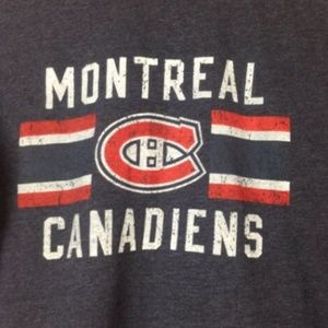 Knights Apparel Shirts - 🔥NHL Montreal Canadiens Size Large T-Shirt